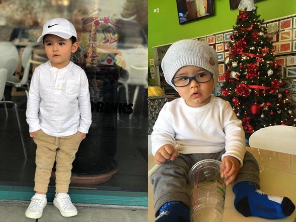 Con cái nhà sao Việt: Ăn mặc cực 'chất' không thua gì người lớn - Ảnh 4