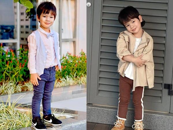 Con cái nhà sao Việt: Ăn mặc cực 'chất' không thua gì người lớn - Ảnh 6