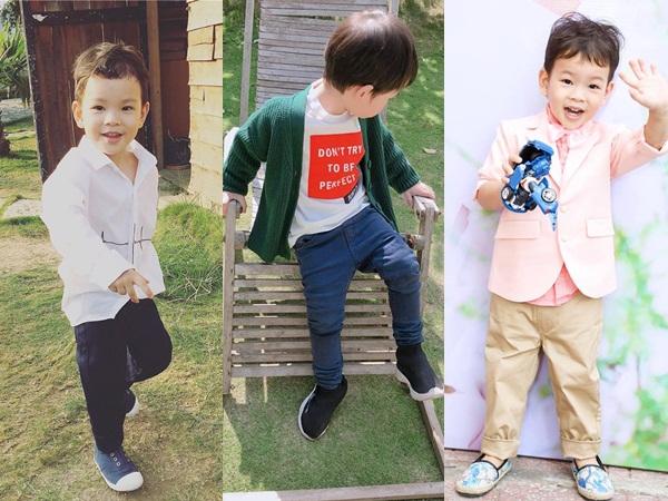 Con cái nhà sao Việt: Ăn mặc cực 'chất' không thua gì người lớn - Ảnh 7