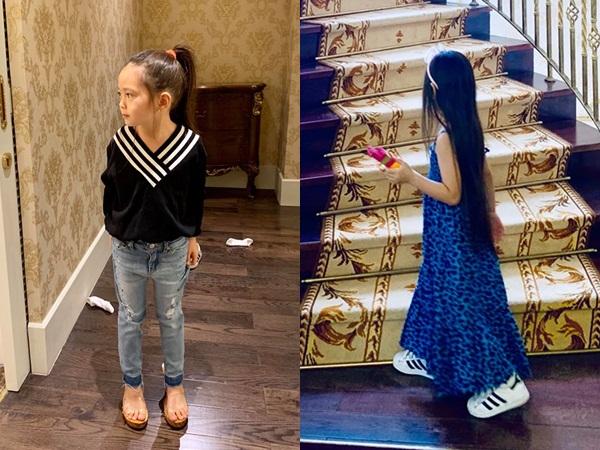 Con cái nhà sao Việt: Ăn mặc cực 'chất' không thua gì người lớn - Ảnh 9