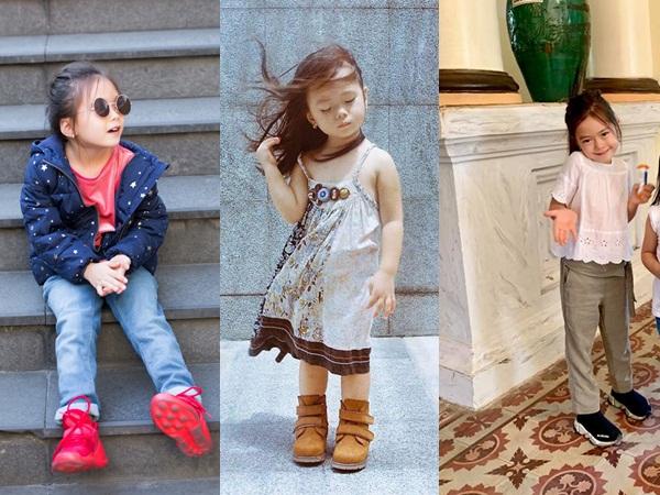 Con cái nhà sao Việt: Ăn mặc cực 'chất' không thua gì người lớn - Ảnh 10