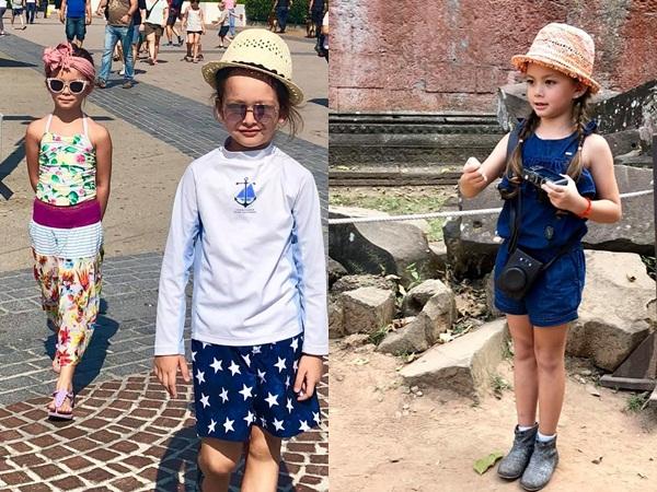 Con cái nhà sao Việt: Ăn mặc cực 'chất' không thua gì người lớn - Ảnh 11