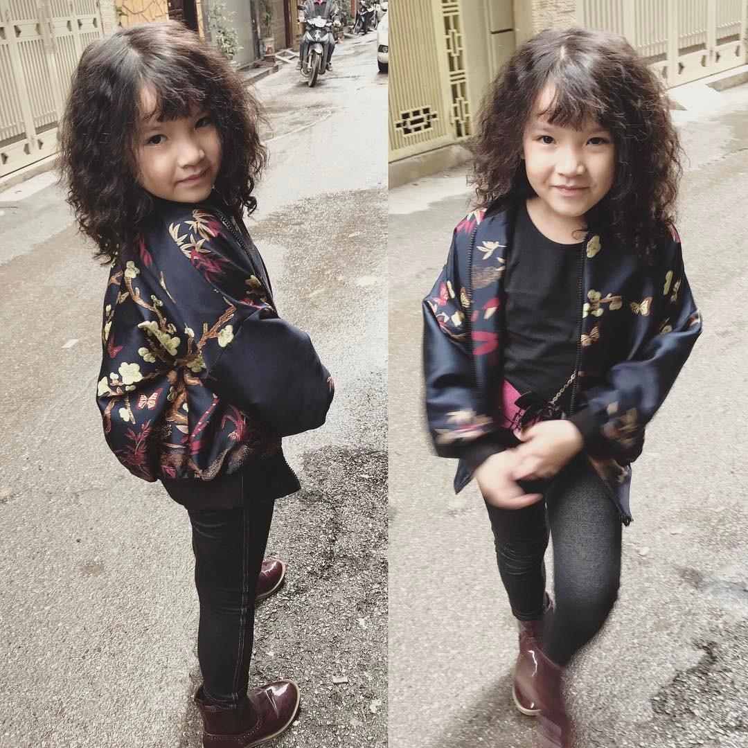 Con cái nhà sao Việt: Ăn mặc cực 'chất' không thua gì người lớn - Ảnh 1