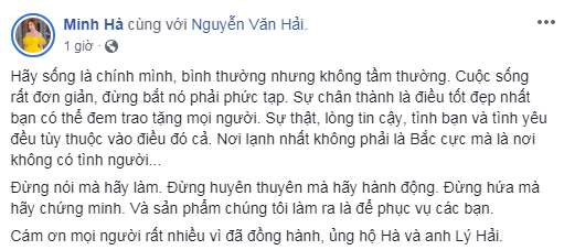 Tác phẩm mới của Lý Hải bị chê tơi tả, Minh Hà nói một câu khiến ai cũng phải suy ngẫm - Ảnh 3