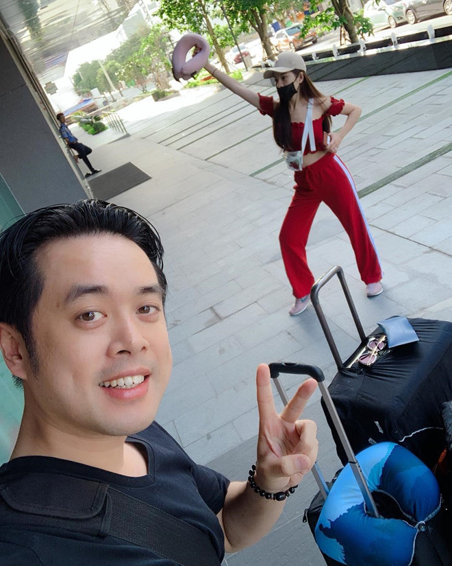 Dương Khắc Linh và bạn gái kém 13 tuổi thoải mái tình tứ trên MXH - Ảnh 6