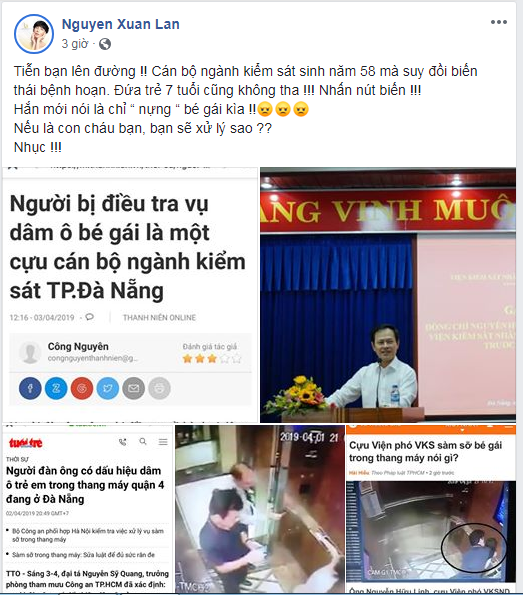 Sao Việt phẫn nộ trước thông tin cựu Viện phó VKS TP. Đà Nẵng sàm sỡ bé gái trong thang máy - Ảnh 5