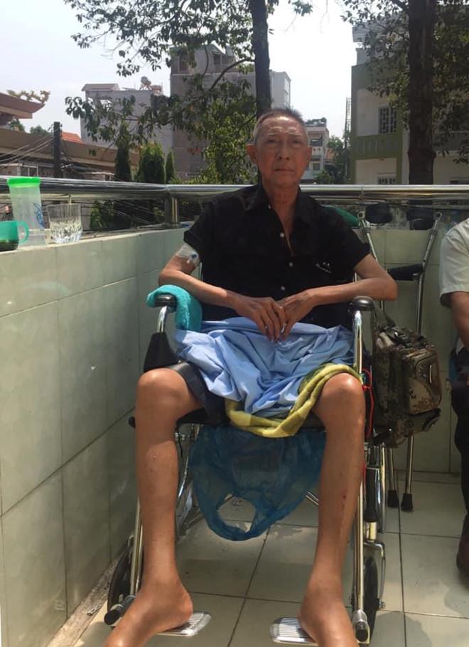Nghệ sĩ Lê Bình bệnh trở nặng, bị liệt nửa người - Ảnh 1