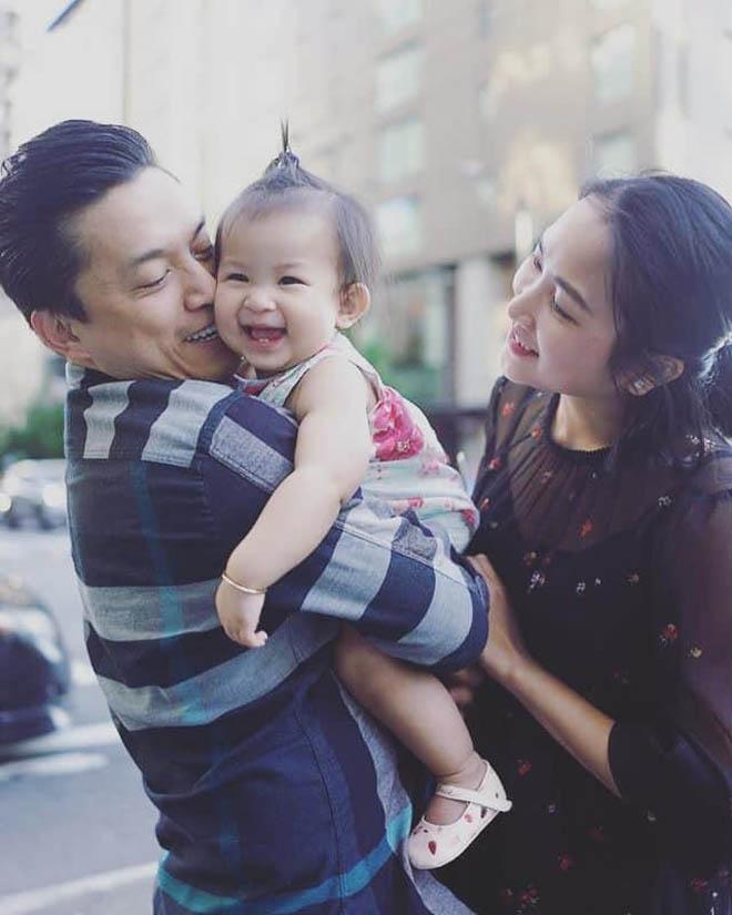 Vợ kém 17 tuổi của Lam Trường tủi thân, vất vả khi một mình chăm con ở Mỹ - Ảnh 4
