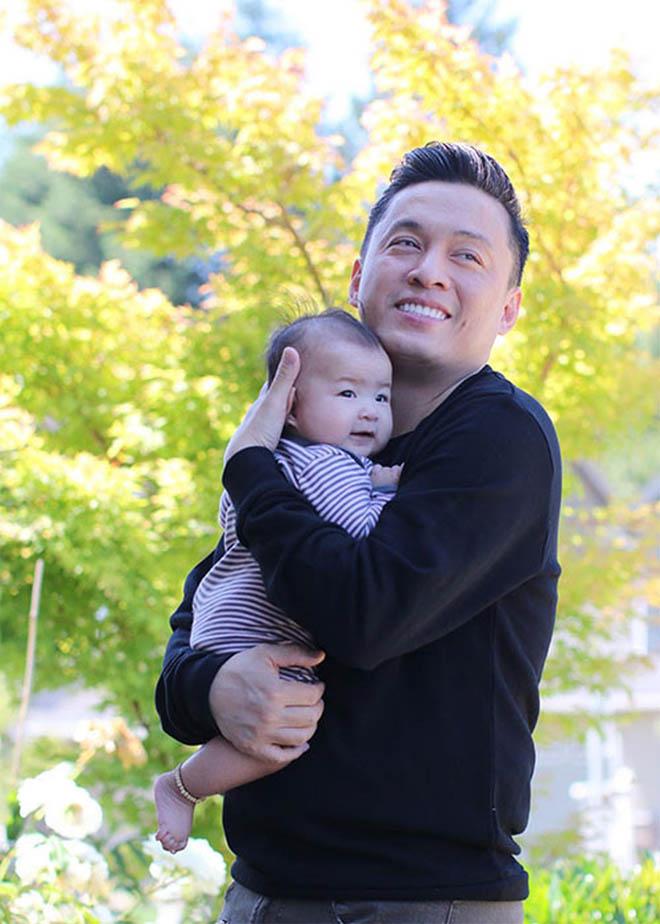 Vợ kém 17 tuổi của Lam Trường tủi thân, vất vả khi một mình chăm con ở Mỹ - Ảnh 6