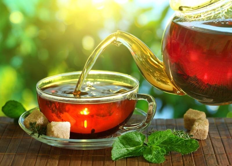 Giảm béo bụng sau khi sinh mổ bằng trà nóng