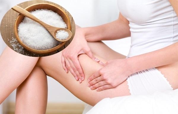 Học lỏm bí quyết giảm béo đùi của phụ nữ Nhật với muối, chân nuột nà thon thả tức thì - Ảnh 4