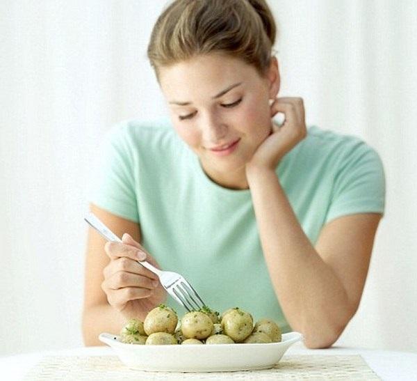 Ăn khoai tây luộc giúp giảm cân an toàn