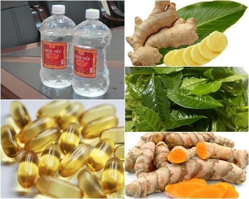 Đánh bay mỡ toàn thân bằng vitamin E và rượu trắng