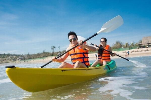 Chèo thuyền giúp bạn nhanh chóng giảm cân