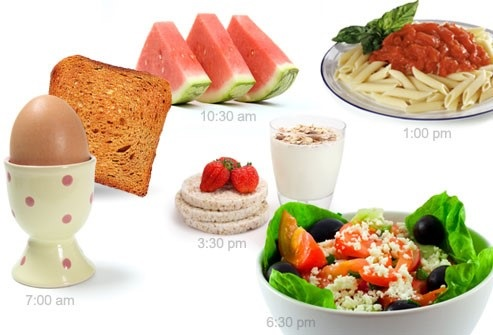 Chia nhỏ bữa ăn giúp giảm cân khoa học