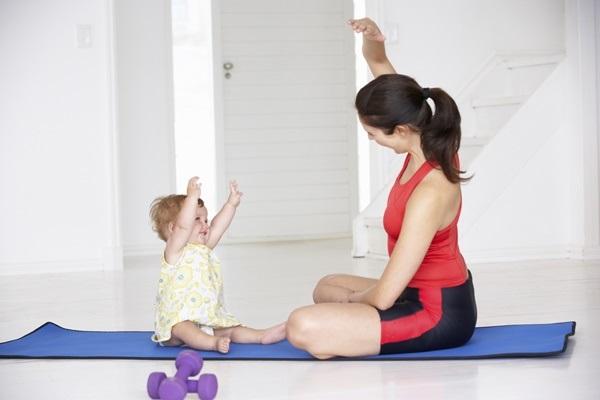 Giảm cân hiệu quả sau sinh mổ khi rèn luyện thân thể