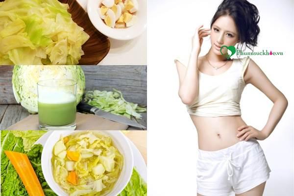 7 ngày giảm cân với bắp cải hiệu quả cho bạn vóc dáng eo thon - Ảnh 2