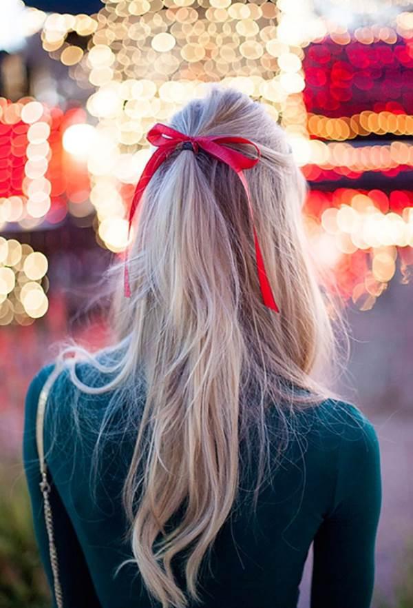 Các kiểu tóc cho giáng sinh cực đẹp - Ảnh 1