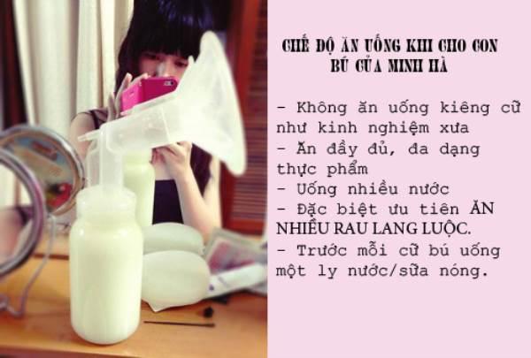 Sau sinh, ăn như Phi Thanh Vân, Minh Hà đảm bảo sẽ eo thon vẫn nhiều sữa - Ảnh 1
