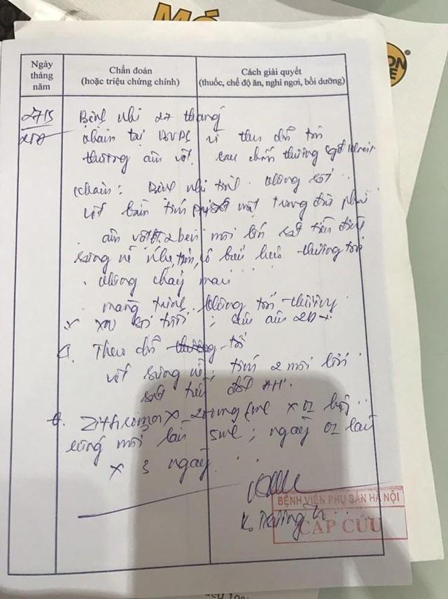 Hà Nội: Công an vào cuộc vụ bé gái 3 tuổi bị tổn thương vùng kín - Ảnh 2