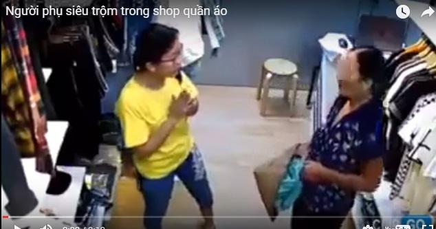 Hà Nội: Người phụ nữ đột nhập shop quần áo 'chôm' đồ mang về bán ở vỉa hè bị mời về công an - Ảnh 2