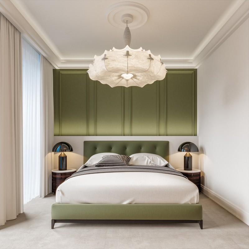 Trang trí phòng khách màu xanh căng tràn sức sống - Ảnh 3