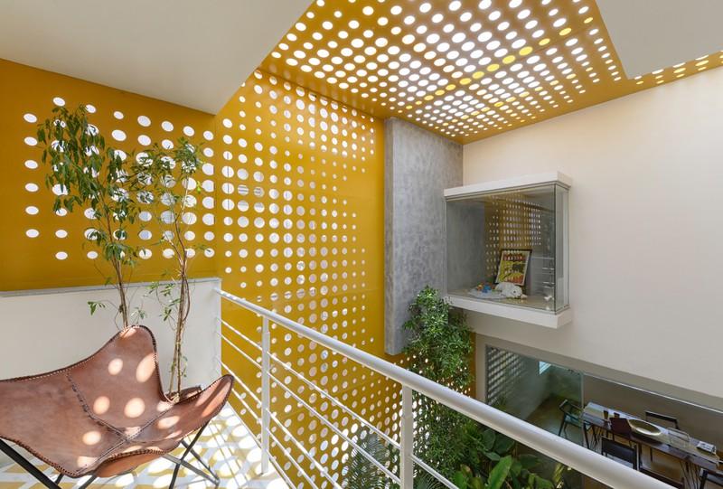 """Ngôi nhà gần gũi với thiên nhiên nhờ có """"vườn đặt trong nhà"""" - Ảnh 9"""