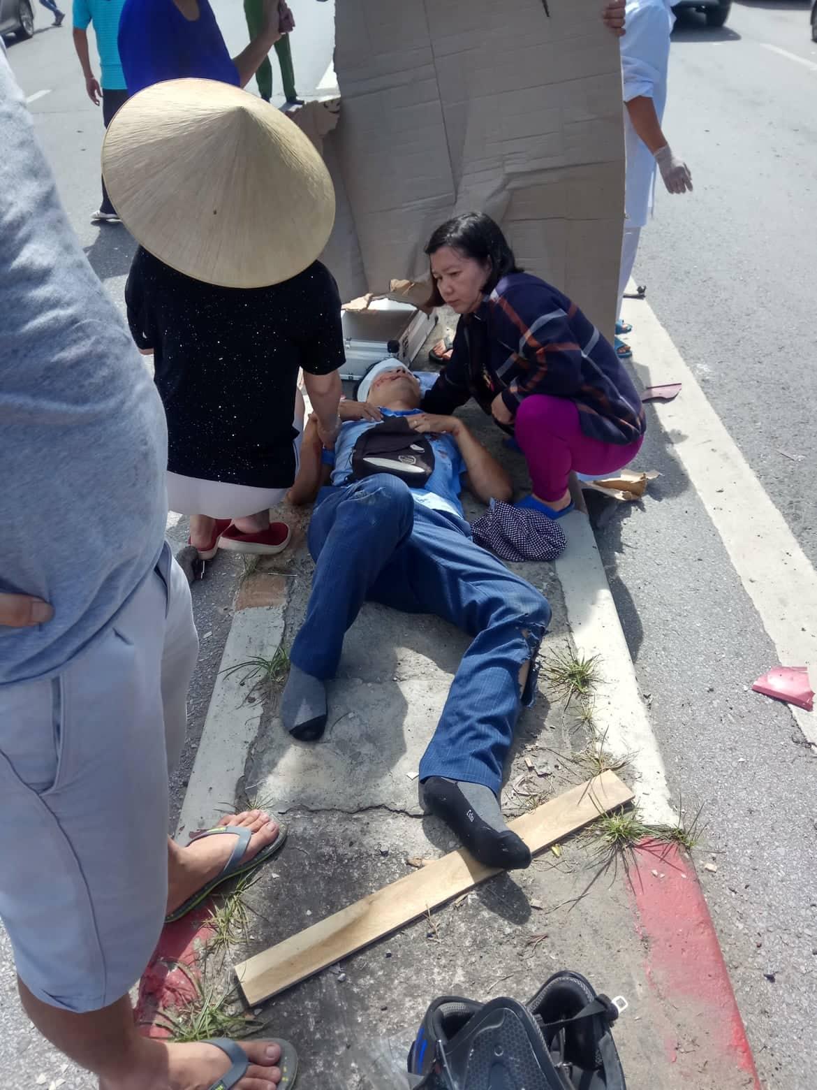 Xe khách mất lái gây tai nạn kinh hoàng trên cầu Bãi Cháy - Ảnh 3