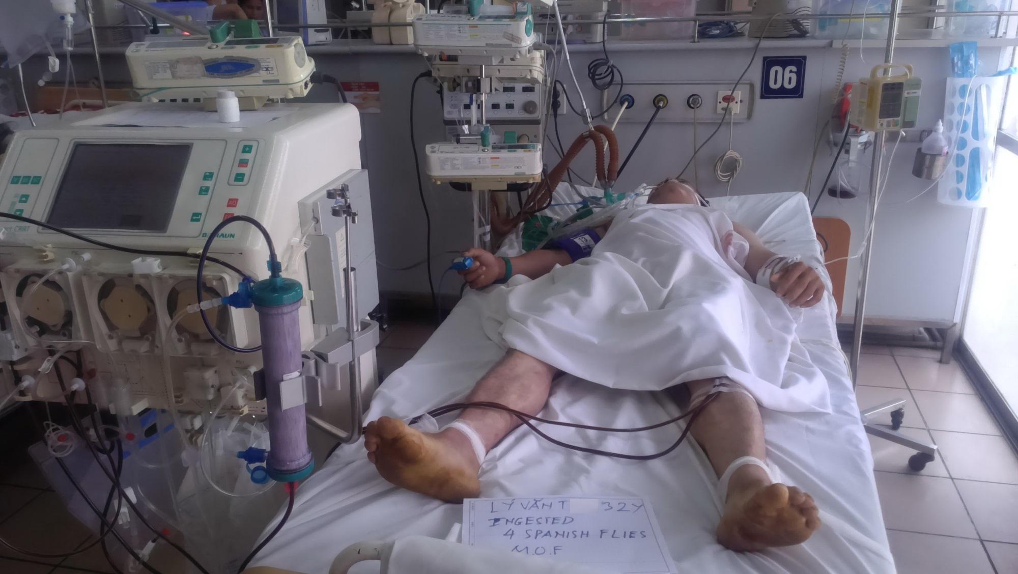 Cả gia đình nhập viện cấp cứu, tử vong vì thú vui 'nhậu' sâu ban miêu - Ảnh 2