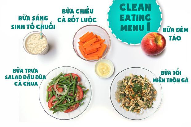 thuc don eat clean giam mo 18