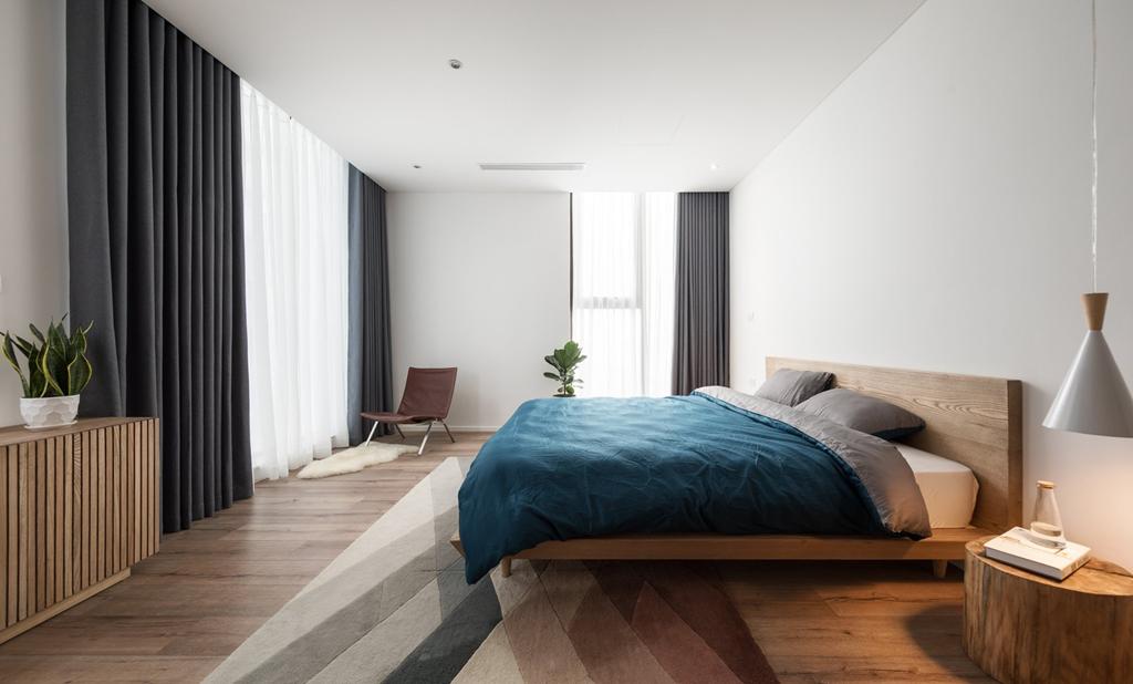 Căn hộ view Hồ Tây được cải tạo với nội thất gỗ tần bì - Ảnh 8