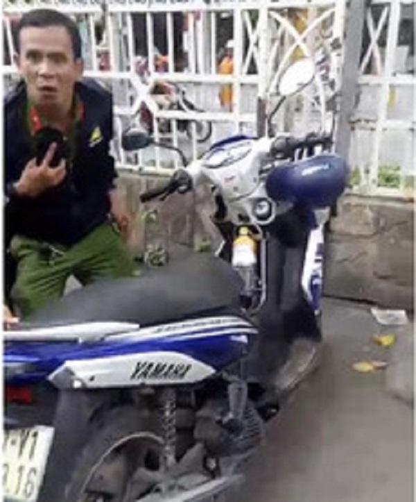 Mạo danh thượng úy cảnh sát hình sự trộm xe máy ở siêu thị BigC và cái kết - Ảnh 1
