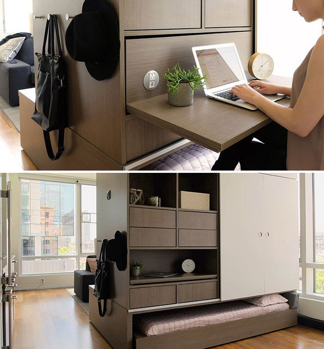 Những căn hộ siêu nhỏ, cực chất nhìn mê liền nhờ thiết kế thông minh - Ảnh 2