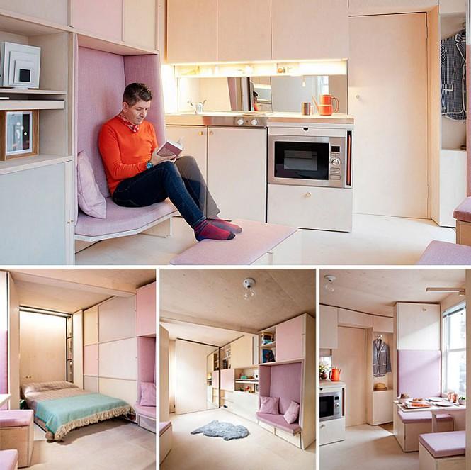 Những căn hộ siêu nhỏ, cực chất nhìn mê liền nhờ thiết kế thông minh - Ảnh 5