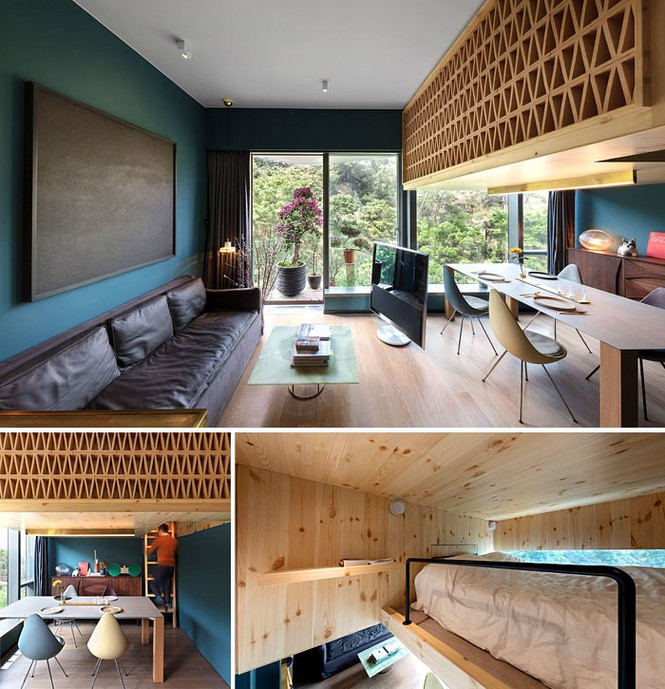Những căn hộ siêu nhỏ, cực chất nhìn mê liền nhờ thiết kế thông minh - Ảnh 6