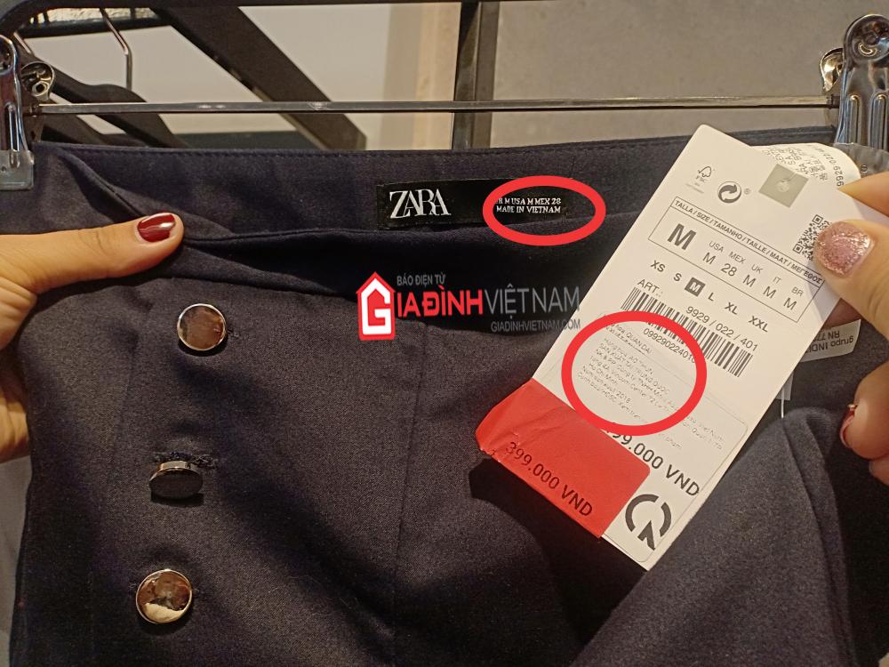 Bài 1: Hãng thời trang Zara nhập nhèm thương hiệu, mất lòng tin khách hàng - Ảnh 1