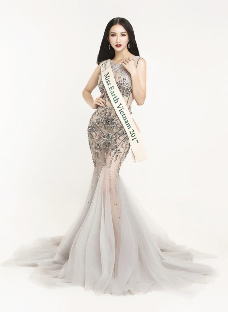 Những hoa hậu Việt cứ lặng lẽ đi thi lại được giải cao - Ảnh 17