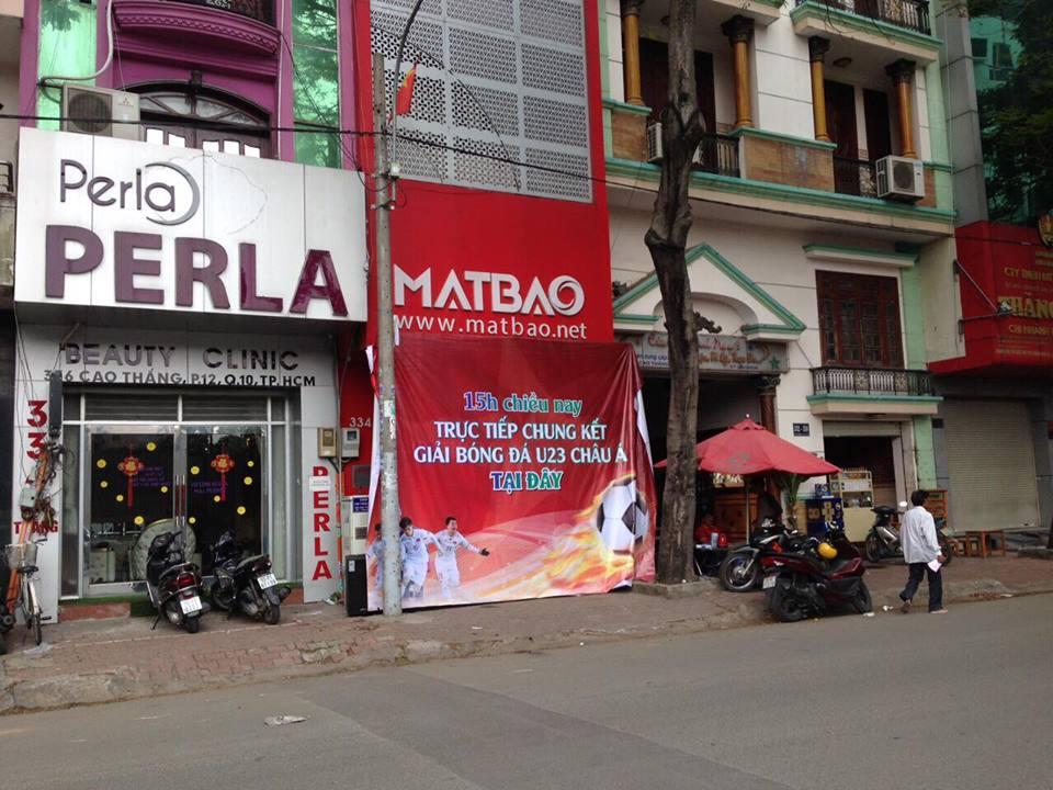 Công ty 'chơi lớn', thuê màn hình LED để nhân viên cổ vũ U23 Việt Nam vào chung kết - Ảnh 1