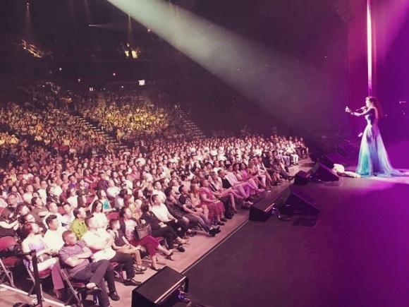 Tour diễn của Hồ Ngọc Hà tại Mỹ