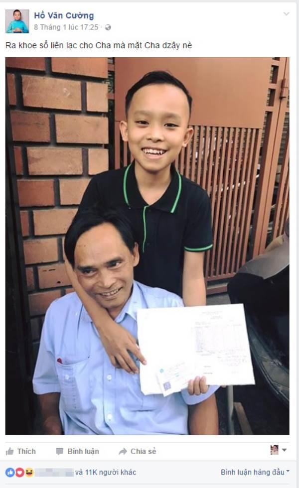 Lộ kết quả sổ liên lạc ở trường chuyên Sài Gòn, bố Hồ Văn Cường phản ứng gây choáng - Ảnh 3