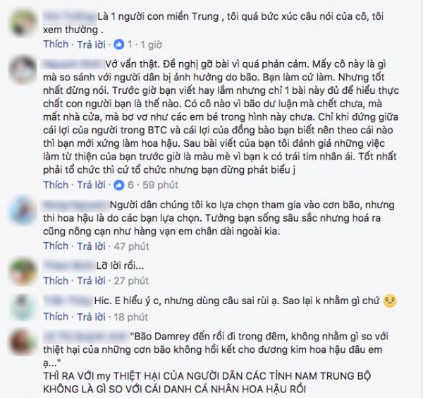 Dính 'vạ miệng' liên quan tới bão số 12, giám khảo Hoa hậu Hoàn vũ Việt Nam bị chỉ trích dữ dội - Ảnh 2