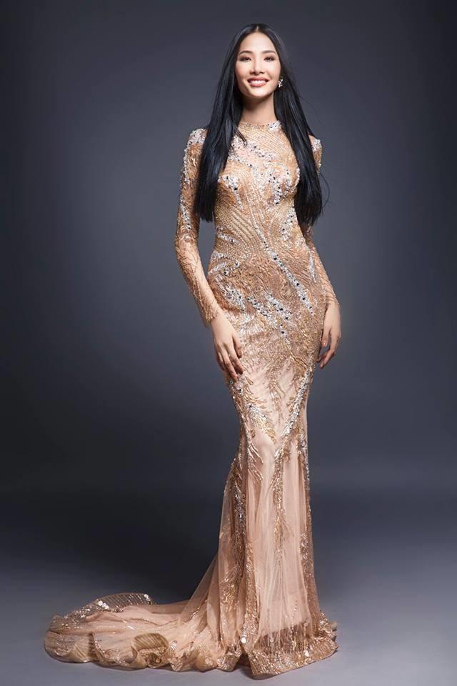 Đồng loạt tranh tài tại Hoa hậu Hoàn vũ Việt Nam, Hoàng Thùy và Mâu Thủy ai vượt trội hơn? - Ảnh 4