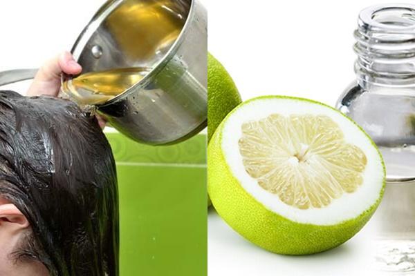 Trị ngứa da đầu hiệu quả bằng tinh dầu bưởi tại nhà