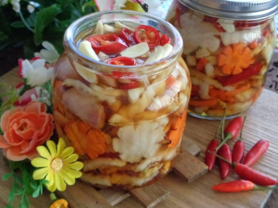 Mách mẹ bầu cách làm dưa món chua ngọt giúp giải nghén, đổi vị bữa ăn hàng ngày - Ảnh 6