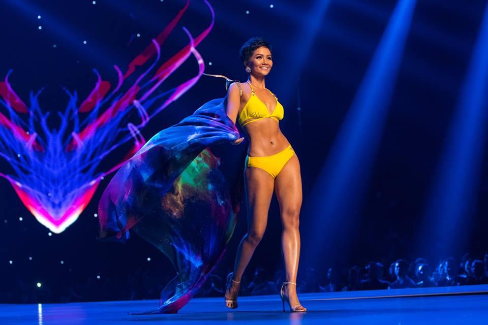 Sau kỳ tích top 5 Miss Universe, H'Hen Niê được bình chọn là Hoa hậu trình diễn áo tắm nóng bỏng nhất 2018 - Ảnh 2