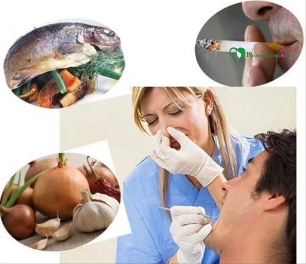 Nguyên nhân gây nên chứng hôi miệng và cách chữa trị - Ảnh 1