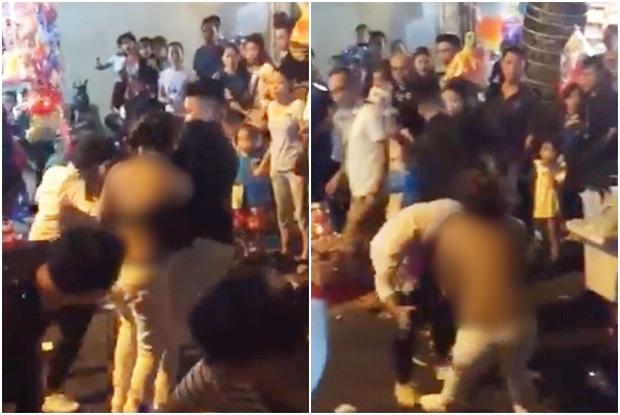 Người phụ nữ bị lột sạch áo vẫn lao vào đánh nhau trên phố trong đêm Trung thu khiến mạng xã hội xôn xao - Ảnh 2