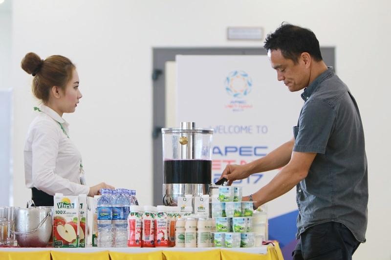 Hơn nửa triệu sản phẩm Vinamilk được chọn phục vụ hội nghị lãnh đạo cấp cao 21 nền kinh tế thành viên Apec - Ảnh 4