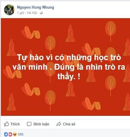 'Thánh chửi' Trang Trần lên tiếng bênh vực NSND Anh Tú, vợ danh hài Xuân Bắc đáp trả: 'Đúng là nhìn trò ra thầy' - Ảnh 6