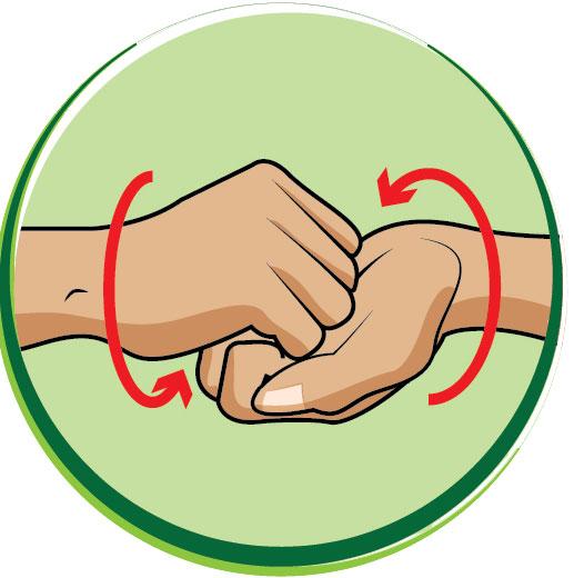 6 bước rửa tay bằng xà phòng giúp ngăn ngừa virus cúm cho trẻ - Ảnh 5